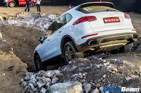 Porsche Macan Off Road - porsche cayenne off roading experience at the adventure trail
