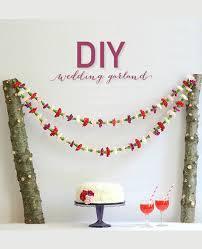 diy flower garland by a splendid occasion