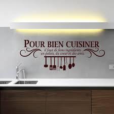 stickers pour cuisine marron créative stickers muraux pour cuisine décoration à la