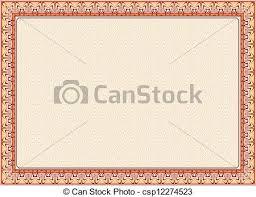certificate frame certificate frame diploma certificate diploma for print vector