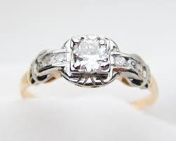 non diamond engagement rings non traditional engagement rings isadoras antique jewelry