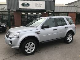 land rover silver used silver land rover freelander for sale gloucestershire