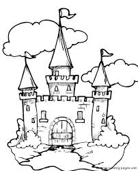 irish castle coloring page castle g m pinterest castles and craft