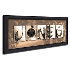 Home Interiors And Gifts Framed Art Amazon Com Block Mount Personalized Wine Name Art Perfect And