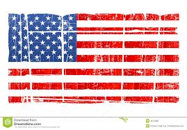 Ripped American Flag Distressed American Flag Clipart Collection