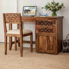 study table chair online camellias wooden study table set furniture online sheesham wood