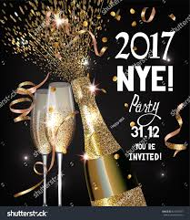 new years or birthday party invitation stock image new year party invitation shiny stock vector 526374787