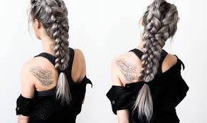 hair tutorial warrior braids hair tutorial youtube