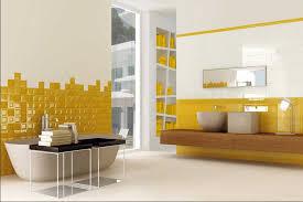 designer bad deko ideen badezimmer dekorieren ideen mit weiß gelb badfliesen vpbridal