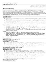 pharmacist resume sle pharmacist resume templates resume