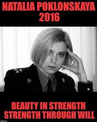 Natalia Poklonskaya Meme - then tell that to the people wailing about how we 146079088 added