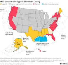 Uco Map Trump U0027s Offshore Oil Plan Faces Opposition On All Coasts Map