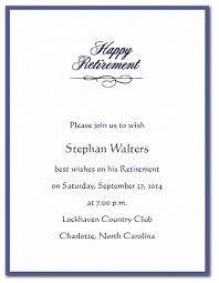 retirement invitation wording retirement cocktail party invitation wording retirement party