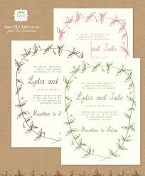Blank Wedding Invitation Kits Free Printable Wedding Invitations Popsugar Australia Smart Living