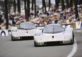 mercedes le mans 25 years ago victory for mercedes in the 24 hours of
