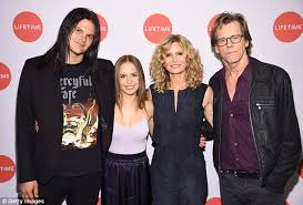 helen lasichanh wikipedia kevin bacon and kyra sedgwick are joined by son travis at screening