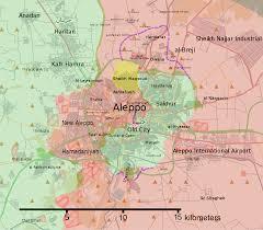 Aleppo Syria Map by Aleppo Offensive September U2013october 2016 Wikipedia