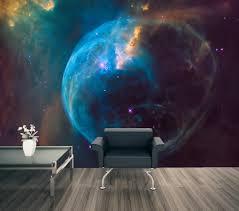 bubble nebula space wall mural bubble nebula astronomy wall mural