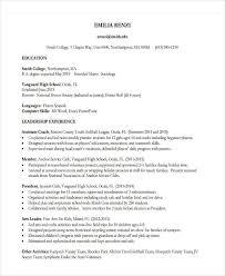 Educational Resume Samples by 22 Education Resume Samples Free U0026 Premium Templates