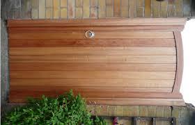 backyard gate door home outdoor decoration
