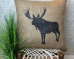 Hunting Home Decor Hunting Pillow Etsy