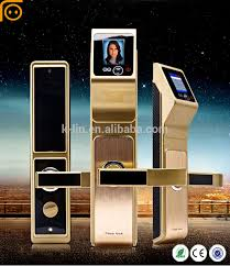 alibaba face recognition deadbolt sensor card face recognition digital passcode door lock