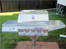 Backyard Charcoal Grill by Stainless Steel Backyard Pitfire Grill