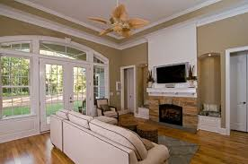 Donald A Gardner Great Room The Marley Plan 1285 Contemporary Living Room