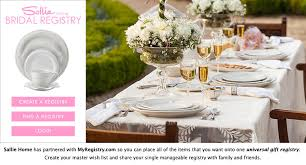 find bridal registry wedding registry at sallie home