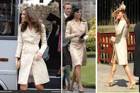 dresses for wedding guests 2011 white or ivory at wedding as a guest kate middleton