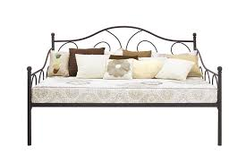 dhp furniture victoria full size metal daybed