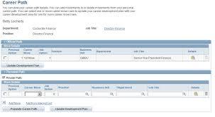 career development plans peoplesoft hr 9 1 peoplebook plan careers and successions pdf