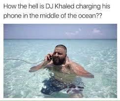 Dj Khaled Memes - dopl3r com memes how the hell is dj khaled charging his phone