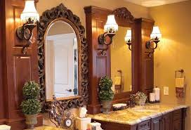 bathroom vanity lighting traditional sconces with center ornate
