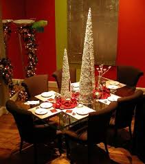dining table christmas decorations architectural planning decor room decorating ideas modern space