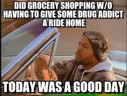 Drug Addict Meme - did grocery shopping w o having to give some drug on memegen