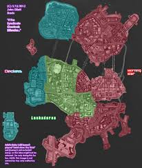 Saints Row 3 Gang Operations Map If The Syndicate Overtook Stilwater By Littlegreengamer On Deviantart