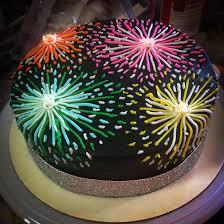 Christmas Cake Decorating Ideas Jane Asher Fireworks Cake By Mcgreevy Cakes Cakery Pinterest Fireworks