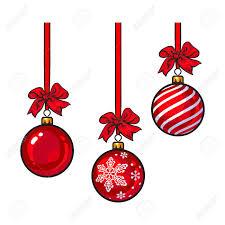 ribbon and bows christmas balls with ribbon and bows sketch style vector