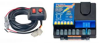 led strobe light kit wolo mfg corp vehicle warning lights power supplies strobe