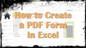 tutorial youtube pdf form how to create a pdf form in excel youtube maxresde creating