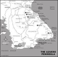Map A Trip Plan A Trip To The Azuero Peninsula Moon Travel Guides