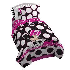 Minnie Mouse Bedspread Set Amazon Com Disney Minnie Mouse U0027dots Are The New Black U0027 5 Piece