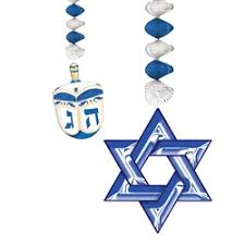 where to buy hanukkah decorations party supplies hanukkah decorations hanukkah danglers throw