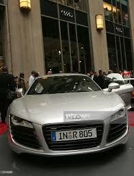 Audi R8 Sport - michael bloomberg rides down park avenue in new audi r8 sports car