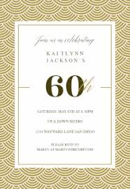60th birthday invitations mind and magick