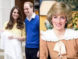 kate and william honor princess diana through princess charlotte