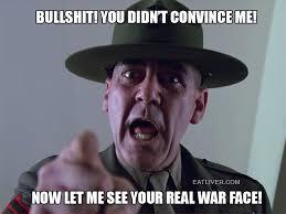 War Face Meme - war face