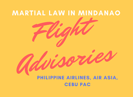 airasia refund policy travel flight advisories martial law in mindanao pal air asia