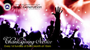 the redeemed christian church of god isaac generation assembly
